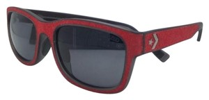 Converse Polarized CONVERSE Sunglasses ON YOUR MARK 56-19 Red on Grey Frame