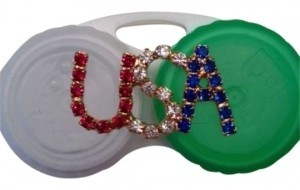 USA Pin Red White and Blue USA Pin / Brooch