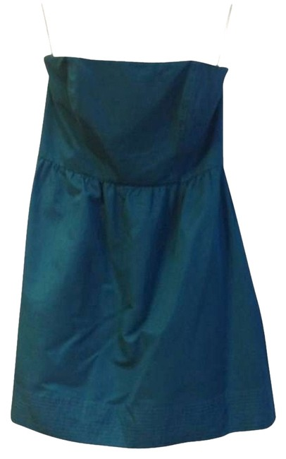 Preload https://item5.tradesy.com/images/shoshanna-teal-above-knee-cocktail-dress-size-8-m-180034-0-0.jpg?width=400&height=650