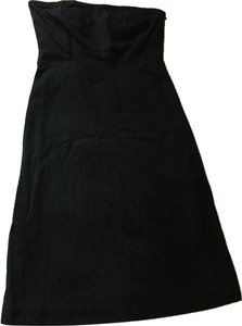 Gap short dress Black Strapless Above The Knee on Tradesy