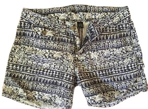 Lucky Brand Lucky Mini/Short Shorts Navy and White