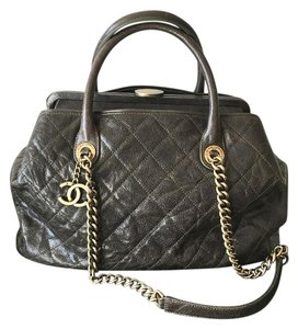 Chanel Shopping Tote Caviar Leather Limited Edition Shoulder Bag