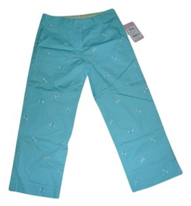 Lilly Pulitzer Straight Pants Wave Blue