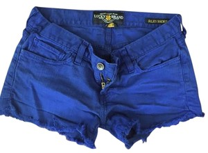 Lucky Brand Mini/Short Shorts Blue