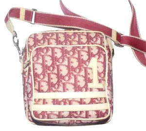 Dior Print Shades Of High-end Bohemian Lots Of Pockets Sporty Cross Body Bag