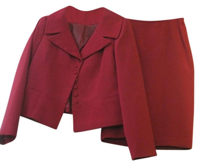 Item - Red - Skirt Suit Size 12 (L)