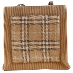 Burberry Tote in Plaid
