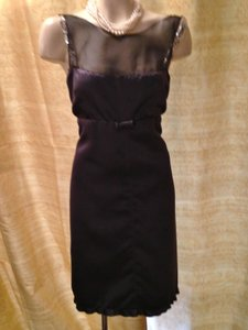 Vera Wang Charcoal/black/silver Mother Or Sister Of The Bride Dress