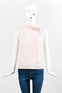 Escada Couture Wool Top Pink