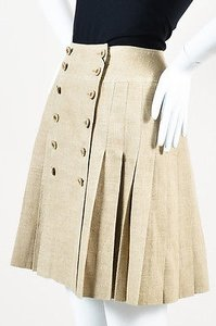 Chanel Vintage Boutique 94p Skirt Beige