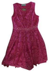 Filly Flair short dress Pink on Tradesy