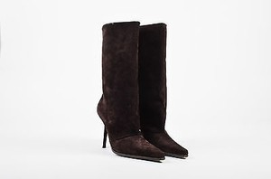 Giuseppe Zanotti Suede Brown Boots