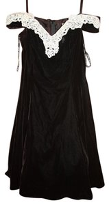 Zum Zum by Niki Livas Cocktail Peticoat Damaged Halloween Costume Dress