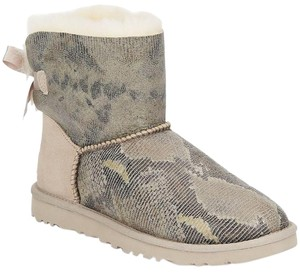 UGG Australia Boot Snakeskin Bow Bailey Multi Boots