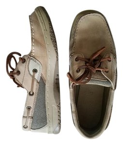 Sperry Leather Tan/brown Flats