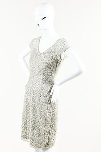 Kay Unger Metallic Dress