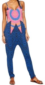 Mara Hoffman Pants Blue Pattern Dress