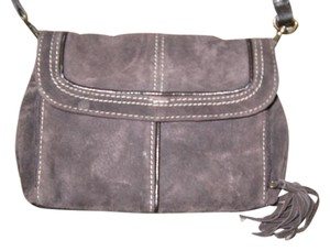 Coldwater Creek Genuine Leather Cross Body Bag