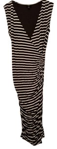 Mossimo Supply Co. short dress Black and white stripes Summer Spring Date Night on Tradesy
