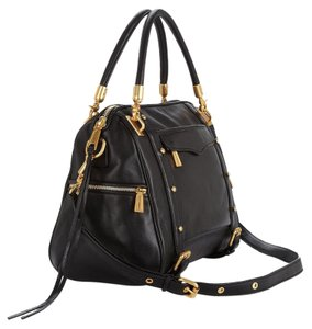 Rebecca Minkoff Cupid Satchel in Black