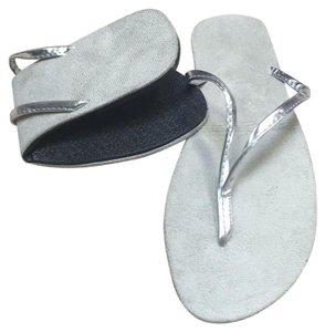 DAWGS Silver Sandals