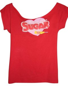 New Sugar Daddy T Shirt Red