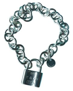 Tiffany & Co. Tiffany & Co. Lock charm Bracelet 7