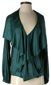 Elizabeth and James Draped V-neck Tunic