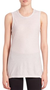 James Perse Top Silver