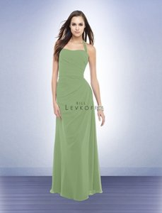 Bill Levkoff Clover Green Bridesmaid Dress Style 160 Dress