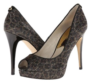 Michael Kors Cheetah Brown Pumps
