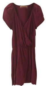 Rory Beca short dress Raspberry Silk Wrap on Tradesy