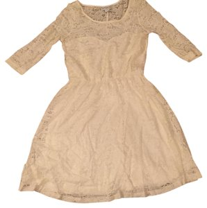 Cotton On short dress Cream on Tradesy