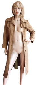 Burberry Vintage Camel Trench Coat