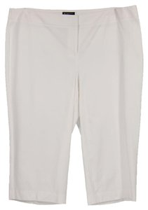 INC International Concepts Capri/Cropped Pants White