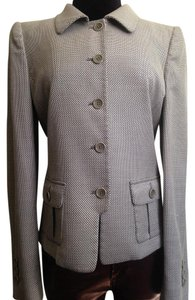 Armani Collezioni Armani Collezioni Blazer/Jacket Grey Size 4 Made in Italy