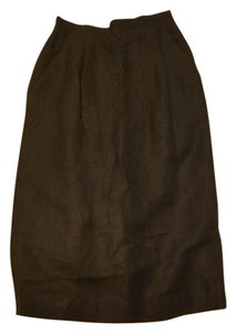 FORENZA Pockets Pencil High Waist Workwear Skirt Black