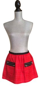 Anna Sui for Target Size 4 Skirt Black and red
