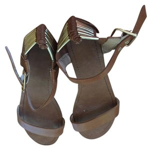 Mossimo Supply Co. Cognac Sandals