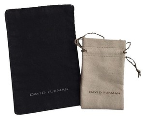 David Yurman Brand New David Yurman Pouch & Cleaning Cloth