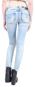 G-Star RAW Denim Light Skinny Jeans-Light Wash