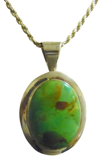 Preload https://item5.tradesy.com/images/mine-finds-by-jay-king-925-dtr-large-mojave-green-turquoise-pendant-1801304-0-1.jpg?width=440&height=440