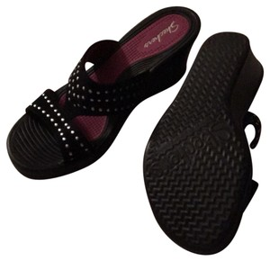 Skechers Black Sandals