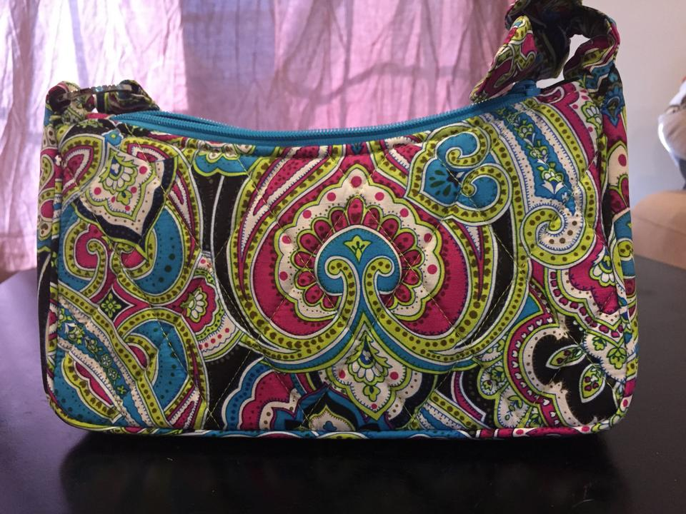f69f2292c8b5 Vera Bradley Silk Daphne Retired Multi - Paisley Cotton Shoulder Bag -  Tradesy