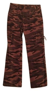 INC International Concepts Cargo Pants Brown and green