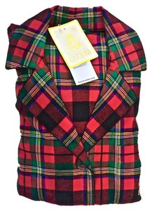 Ralph Lauren Ralph Lauren Plaid Flannel Pajamas-w/ LS- long pants-small New