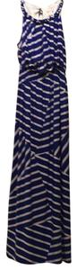 Blue white Maxi Dress by Chico's