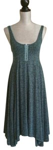Free People short dress Green Size Xs Sleeveless on Tradesy