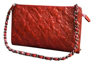 Chanel Lucky Symbols red Clutch