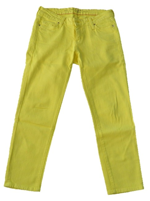 Item - Yellow Capri/Cropped Jeans Size 27 (4, S)